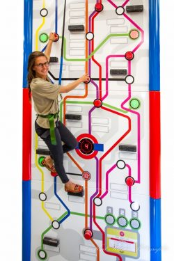 Time traveller Clip 'n Climb Challenge