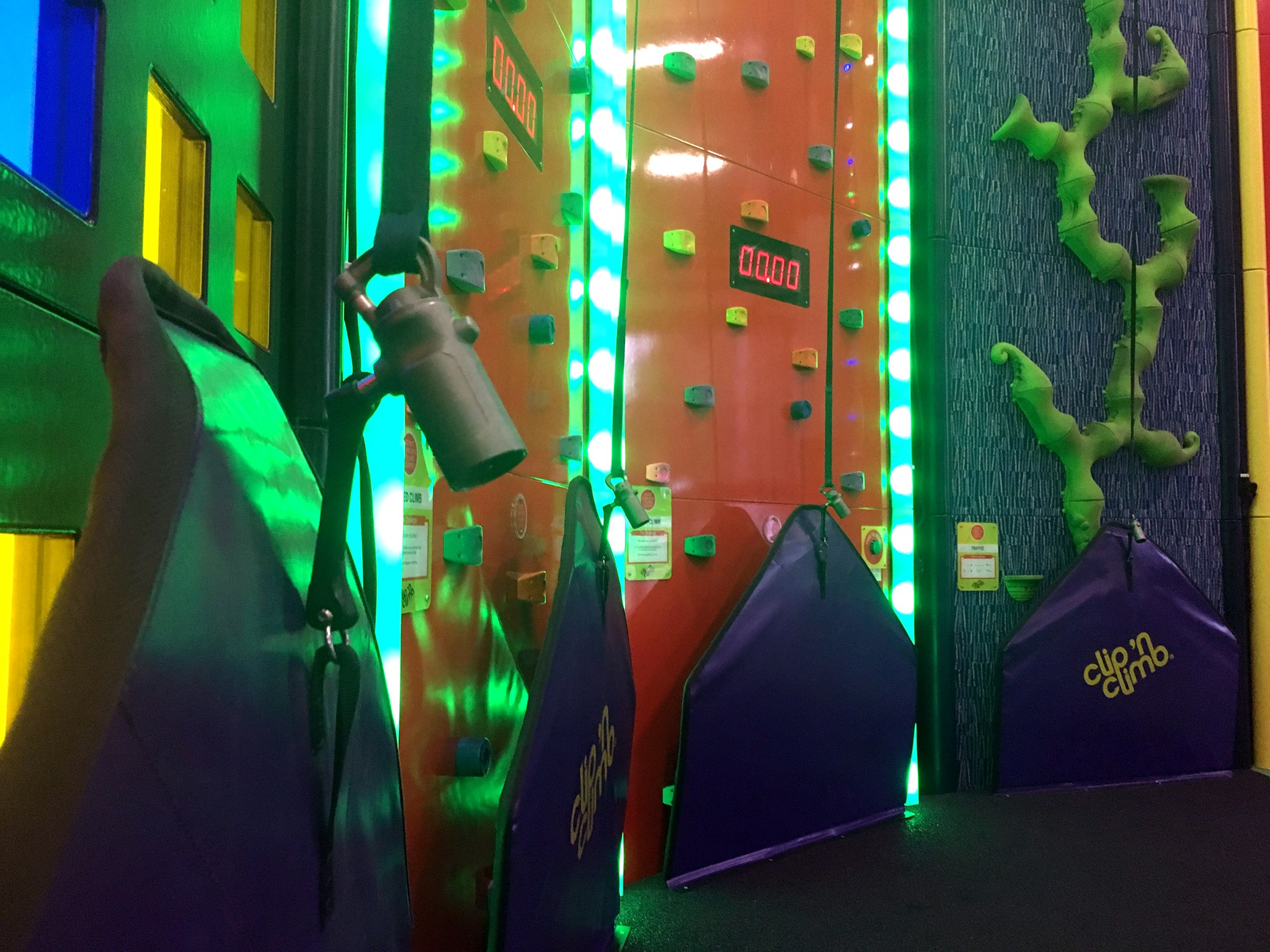Clip 'n Climb's BelayMate introduced in Clip 'n Climb Derby