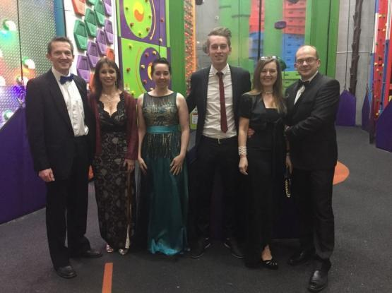 Clip 'n Climb Ilkley's successful staff