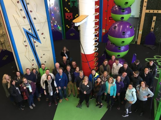 CLIP 'N CLIMB UK owners come together for annual meeting!