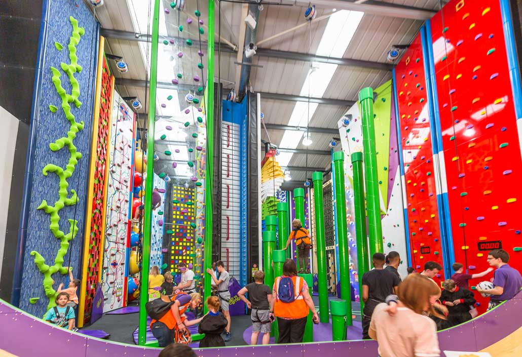 clip n climb leeds launch an interview with the owner clip n climb