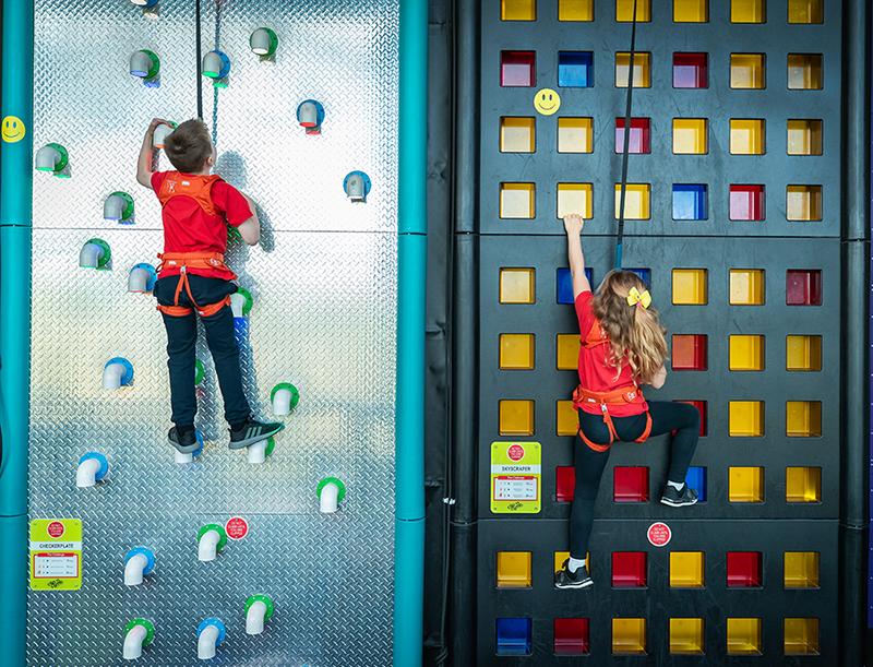 Clip 'n Climb ABEO Entre-Prises Sportainment Leisure Fun Climbing
